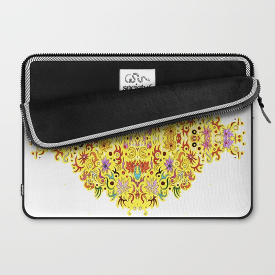 celebration laptop sleeve