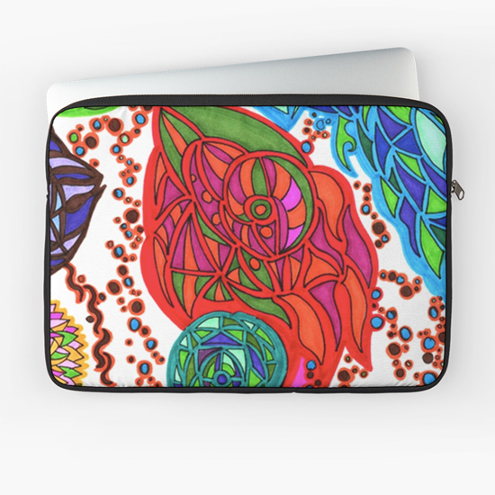 gaudi in january laptop sleeve