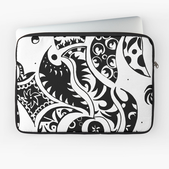 les friezes laptop sleeve