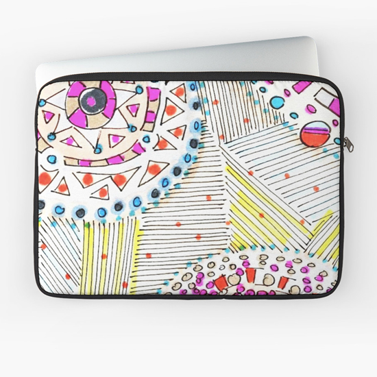 mai tai laptop sleeve