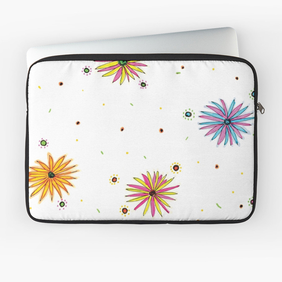 sydney summer laptop sleeve