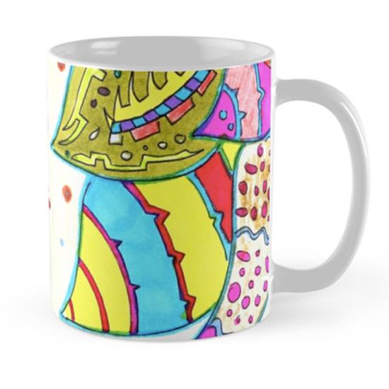pinku mug