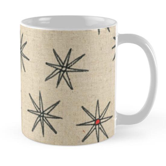 red dot mug