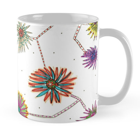 travelling daisy mug