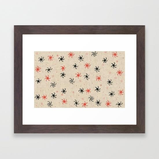 pinwheel print