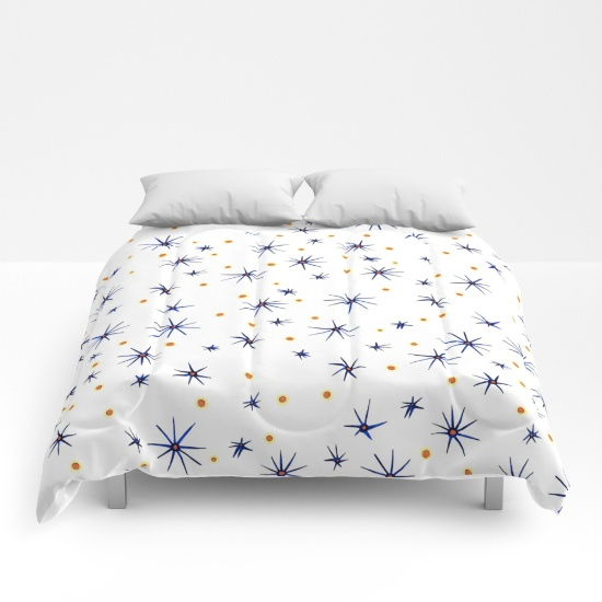 blue mattisse comforter