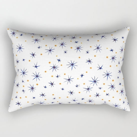 blue mattisse rectangular pillow