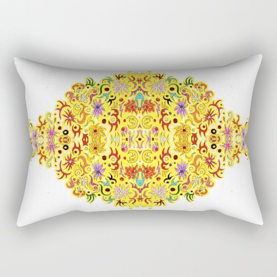 celebration rectangular pillow
