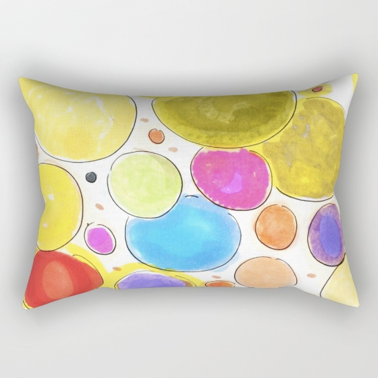 cherireddo rectangular pillow