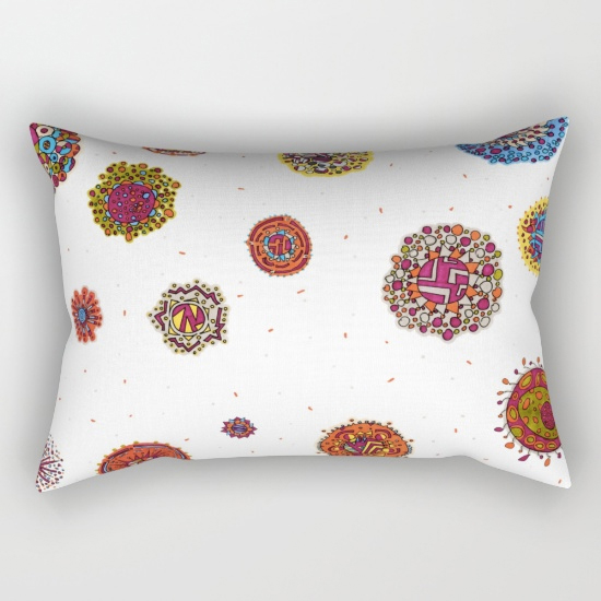 sagitta rectangular pillow