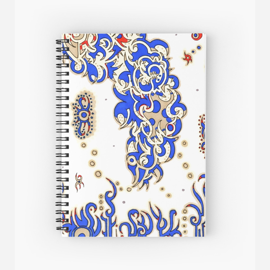 adelaide spiral notebook