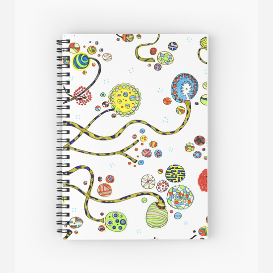 baioretto spiral notebook