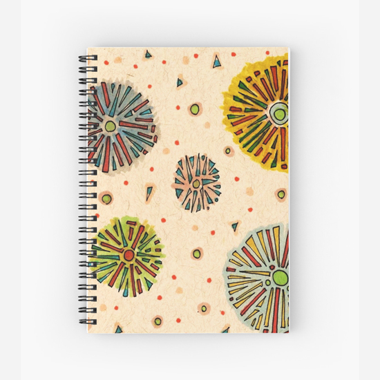 friday spiral notebook