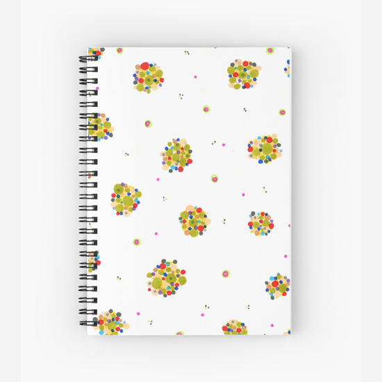 kiki spiral notebook