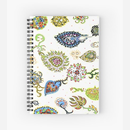 kon spiral notebook