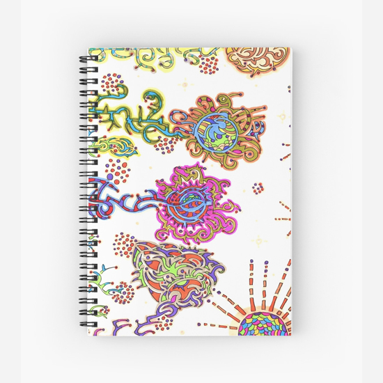 kurimi spiral notebook