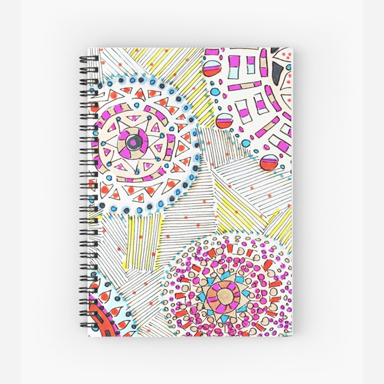 mai tai spiral notebook