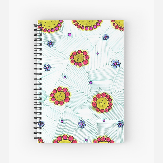 oreole spiral notebook