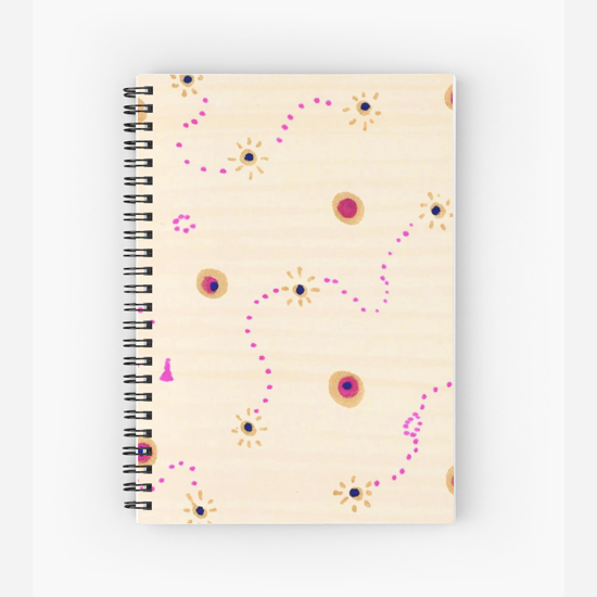 sevigny spiral notebook