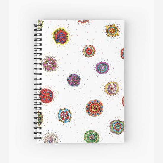snap dragon spiral notebook