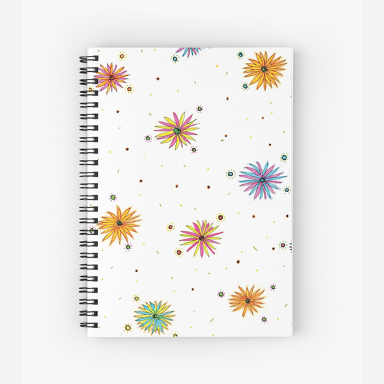 sydney summer spiral notebook