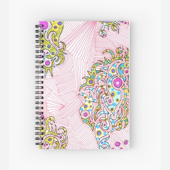 turkish delight spiral notebook