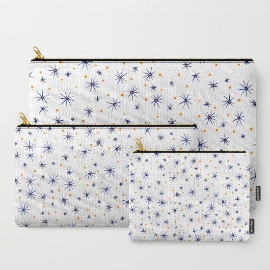 blue mattisse studio pouch