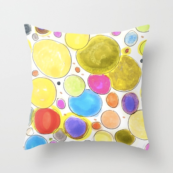 cherireddo throw pillow