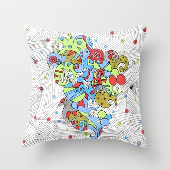 barcelonetta throw pillow