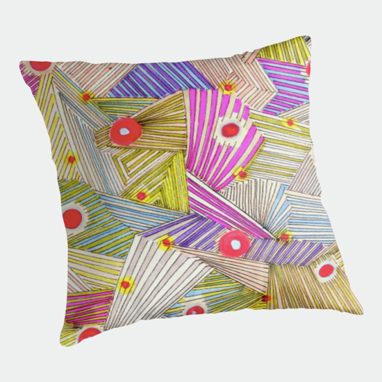 happenstance throw pillow