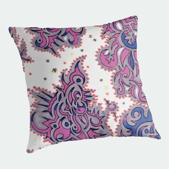 kerala throw pillow