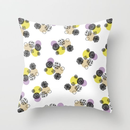 september snow new throw pillow