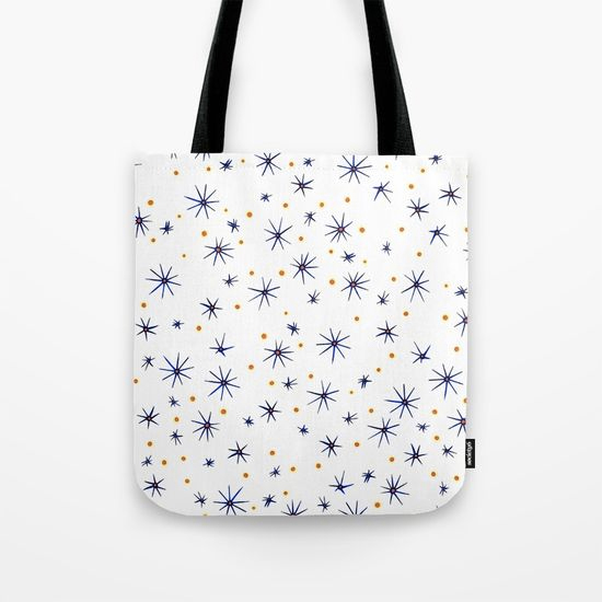blue mattisse tote bag