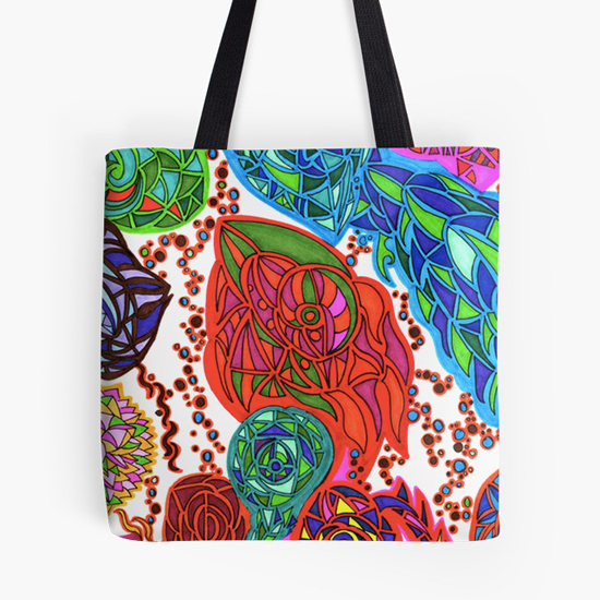 gaudi in january tote bag