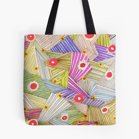 happenstance tote bag