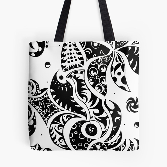 les friezes tote bag