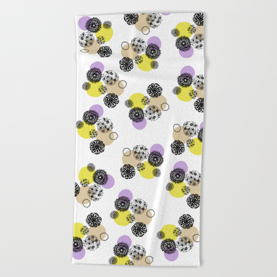 september snow towel