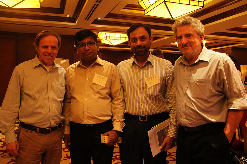 Michael Posner, Shamim Huq, Rezaur Razzak, and Chris Drew.