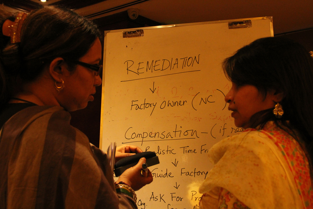 Breakout session on remediation