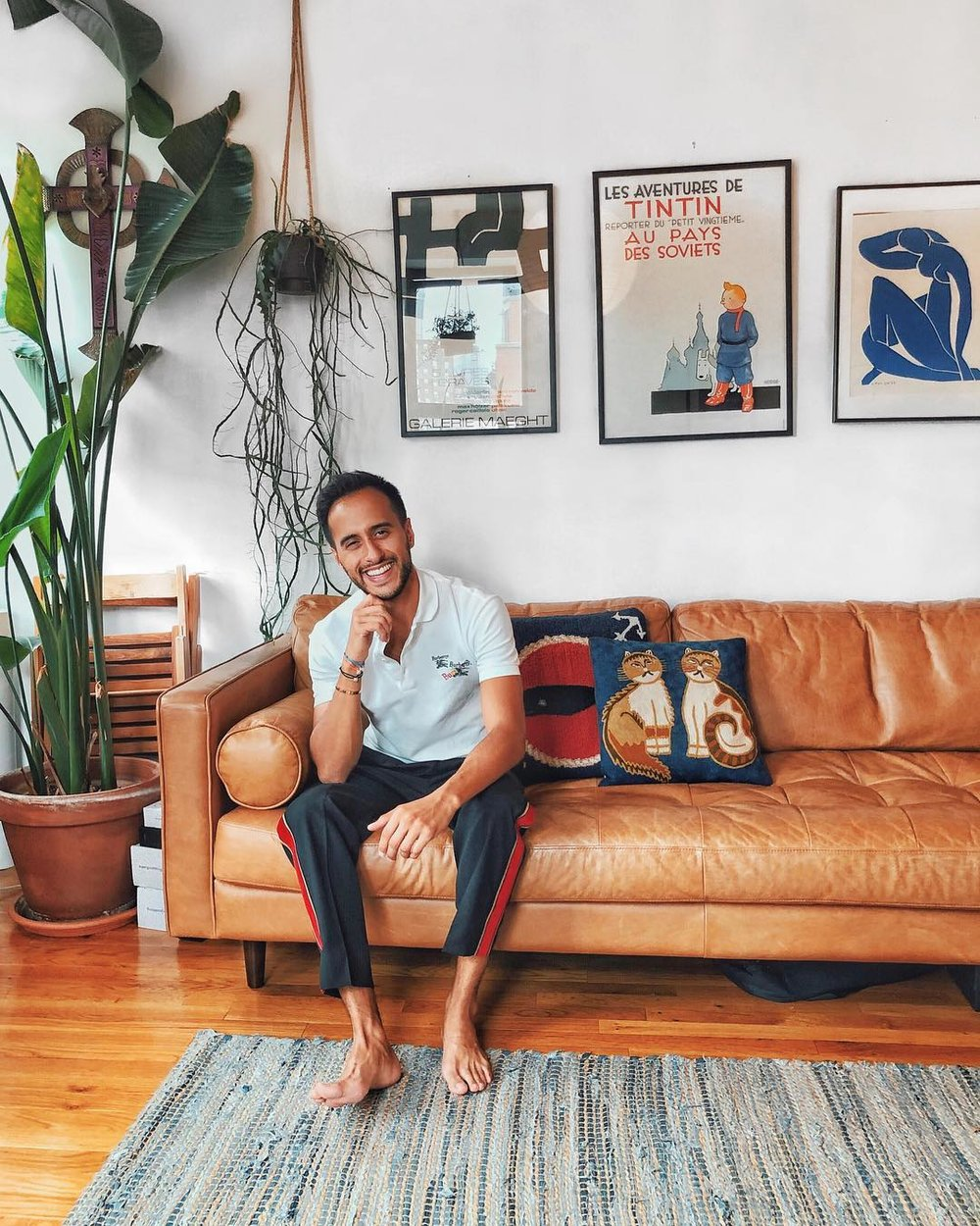 Moti Ankari    @motiankari  is a menswear blogger based in New York. His content consists of personal style, trend analysis, and travel. You may have seen him in GQ, Forbes, and Esquire. He's collaborated with Fohr on Fossil and Armani Beauty.