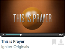 This Is Prayer