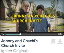 Johnny & Chachi's Church Invite
