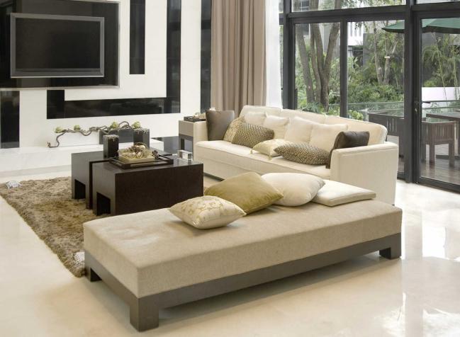 Los porcelanatos ofrecen mucha elegancia para decorar ambientes.