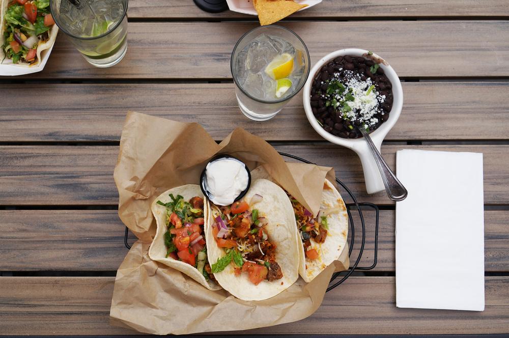 Tacos at Sol Food
