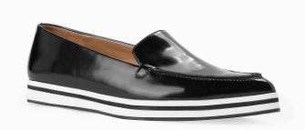 Mango pointed leather loafer £59.99