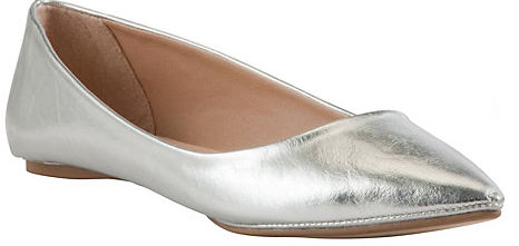 John Lewis Grapefruit Point Toe Pumps £22