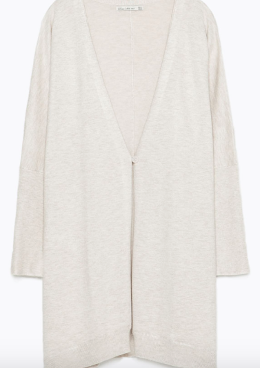 Zara Buttoned Wrap Cardigan £19.99