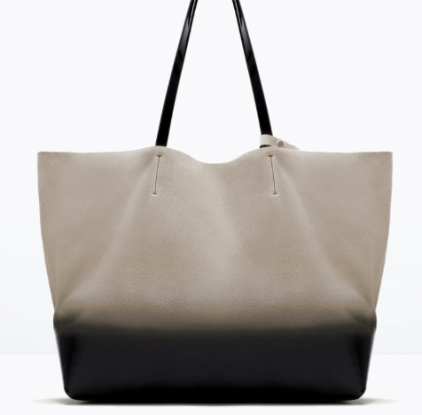 Zara Ombre Leather Shopper £70