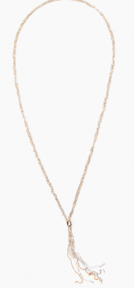 Two-Tone Chain Necklace £32.95  Despite being a silver girl, I like the idea of mixing metals and there is plenty of High Street jewellery out there which only seems to come in gold, so this could bring it all together nicely?