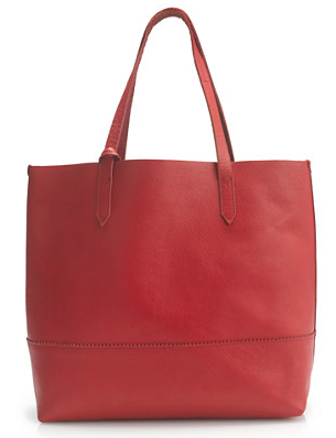 Downing Tote in Persian Red from J Crew £64  (on offer). I think this red could be classed as an easy neutral in my wardrobe as it just lightens all the denim, khaki and white!